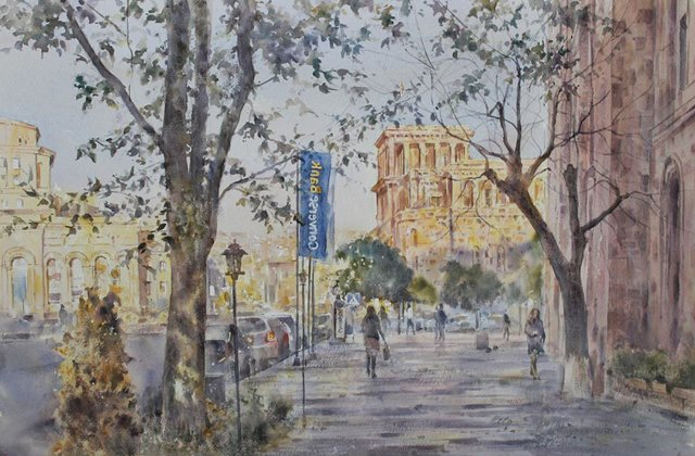 Exhibition of paintings by artist Peto started in the customer service area of Converse Bank