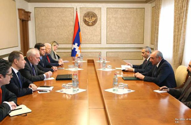 President of Artsakh receives OSCE Minsk Group Co-Chairs